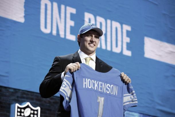 Hockenson tomará mucho protagonismo en la ofensiva de Detroit este año (Foto: detroitlions.com)