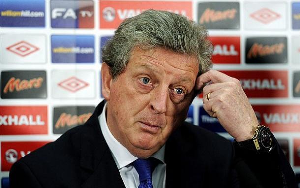 Hodgson en una rueda de prensa. Fuente: telegraph