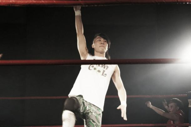 Ho Ho Lun has no career accomplishments but will be hoping to rectify that in this tournament (image: middlekingdomwrestling.com)