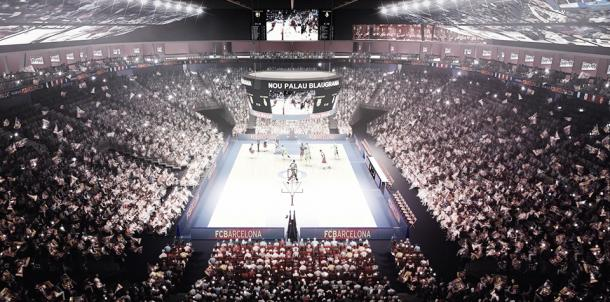 El Palau Blaugrana se vestirá de gala para la ocasión/ Foto: Hok.com