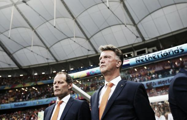 Above: Manchester United manager Louis van Gaal during his time in charge of the Netherlands has reportedly rejected a return to the national side | Getty Images
