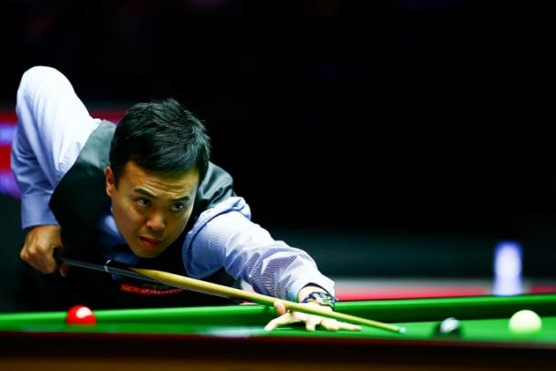 Marco Fu will meet Peter Ebdon in the opening round of the World Championships (image via: en.yibada.com)