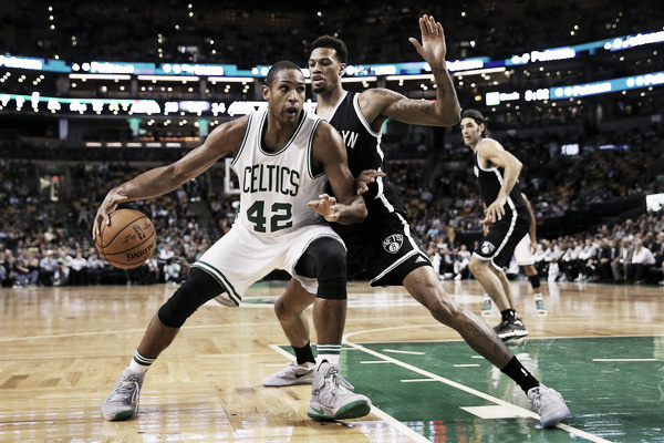 Al Horford made his highly anticipated Celtics debut on Wednesday. (Photo: Maddie Meyer/Getty Images North America)