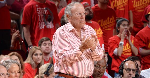 Leslie Alexander, proprietario degli Houston Rockets