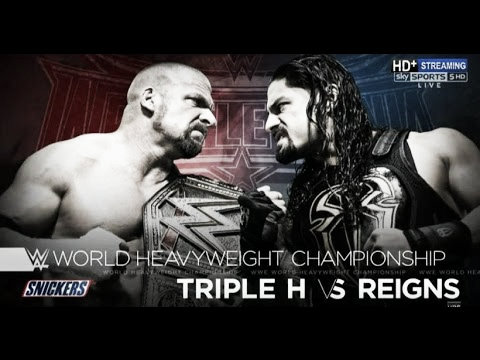Triple H - Roman Reigns is occurring despite fan protests (image: youtube.com)