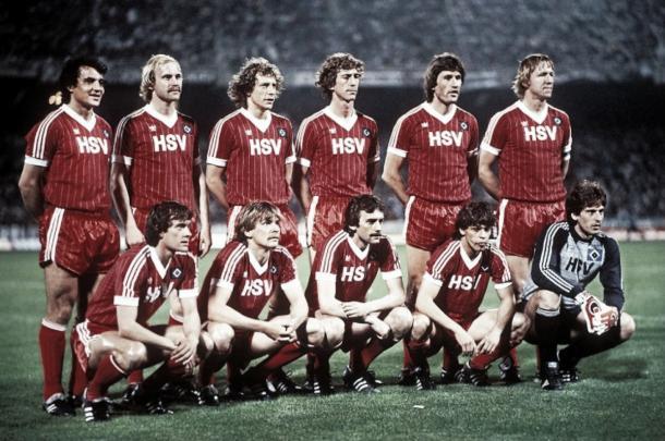 El equipo que llevo a la gloria al Hamburgo | Foto: @HSVsphera