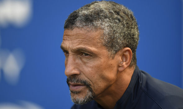 Chris Hughton will be desperate to get his first win in the top flight for Brighton. - Getty Images