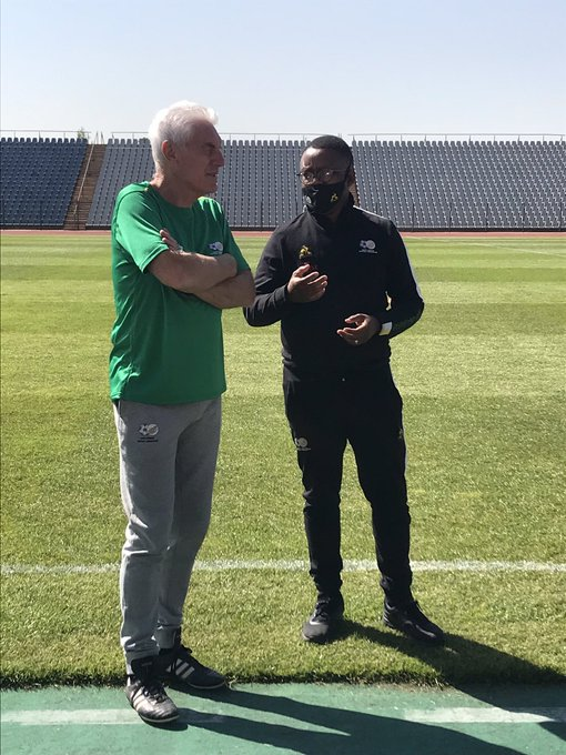 Photo by South African national football team