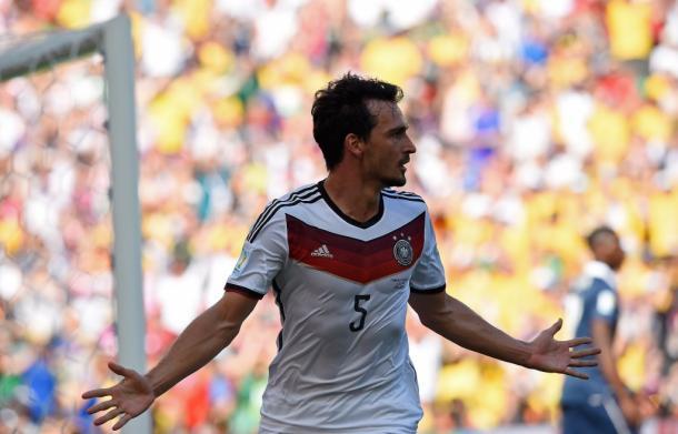 Hummels celebrando el único gol del partido de 2014 | Foto: FIFA
