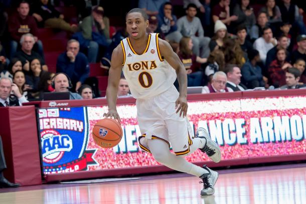 McGill is one of four Iona players averaging in double figures/Photo: Brian Beyrer via Iona athletics
