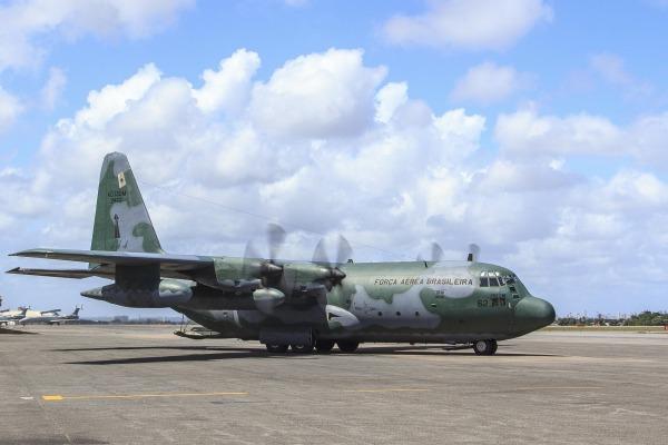 C-130 Hércules é uma aeronave preparada para missões diplomáticas (Foto: Divulgação/FAB)