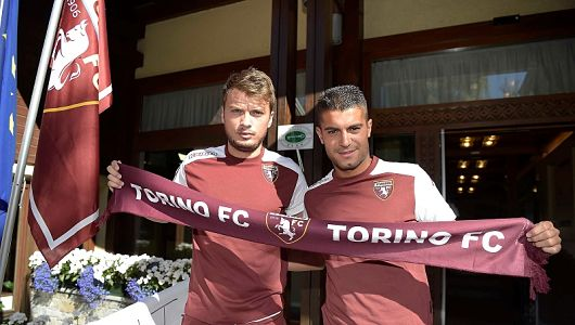 Ljajic and Perotti upon joining the granata | Photo: voti-fanat.com