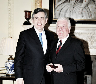 Ian Callaghan was awarded his long awaited world cup medal in 2009 (image: zimbio.co.uk)