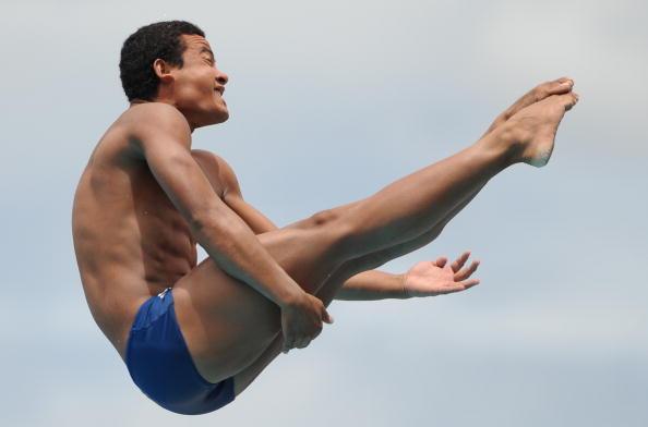 Ian Matos durante os Jogos Pan-Americanos de Toronto 2015 (Foto: Raul Arboleda/AFP/Getty Images)