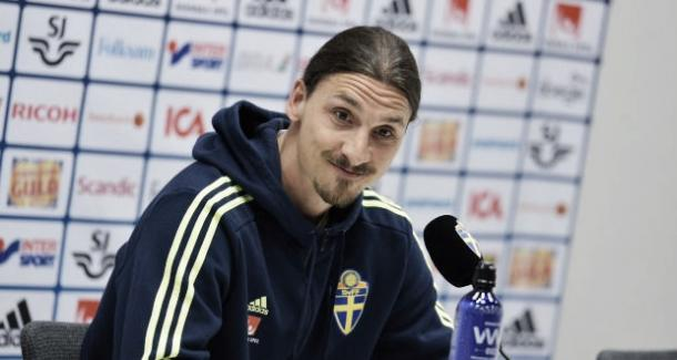Ibrahimovic did not fully address his future in a press conference on Thursday | Photo: EPA