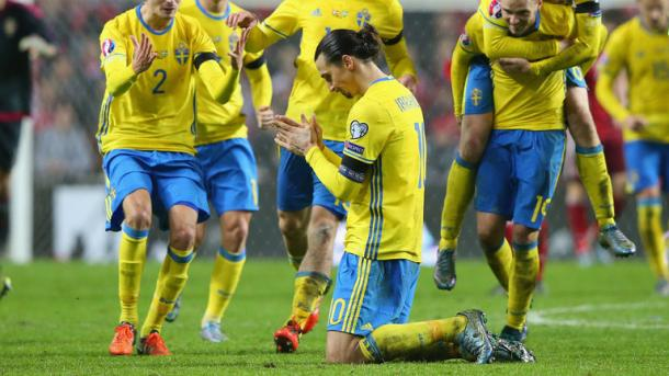 Zlatan's goals sent Sweden to the finals (photo: Getty Images)