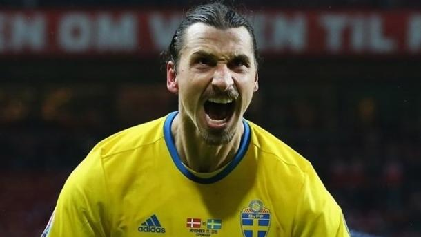 Ibrahimovic will be the main threat against Ireland (photo: UEFA)