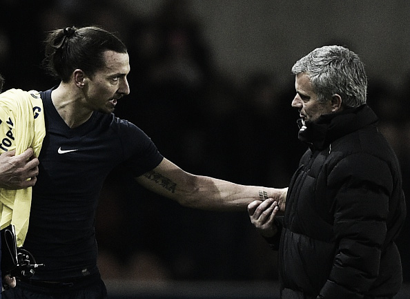 Ibrahimovic could be a great ally for Mourinho at United | Photo: AFP/ Franck Fife