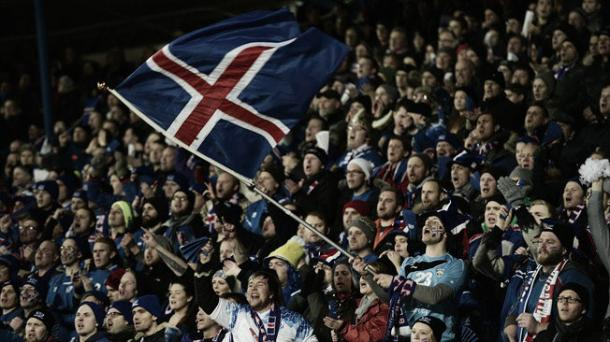 The fans will be sure to make a noise, whether they are Icelandic or not | Credit: Getty