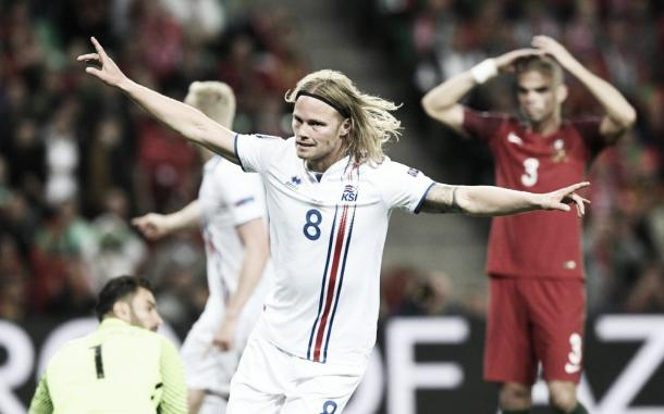 Iceland look to take spirited performance to Marseille | Credit: Telegraph