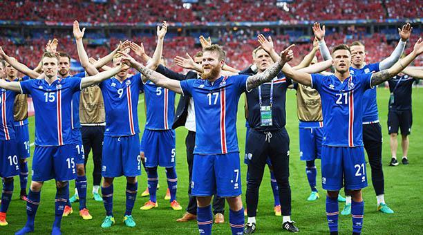 Islandia maravilló en la EURO2016
