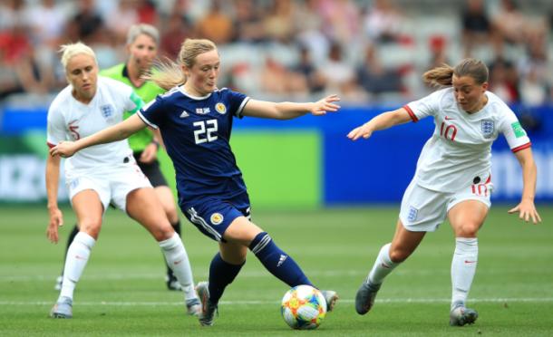 Inglaterra - Escocia en la Copa del Mundo Francia 2019 | Fuente: FIFA