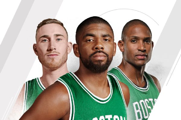 Gordon Hayward - Kyrie Irving - Al Horford