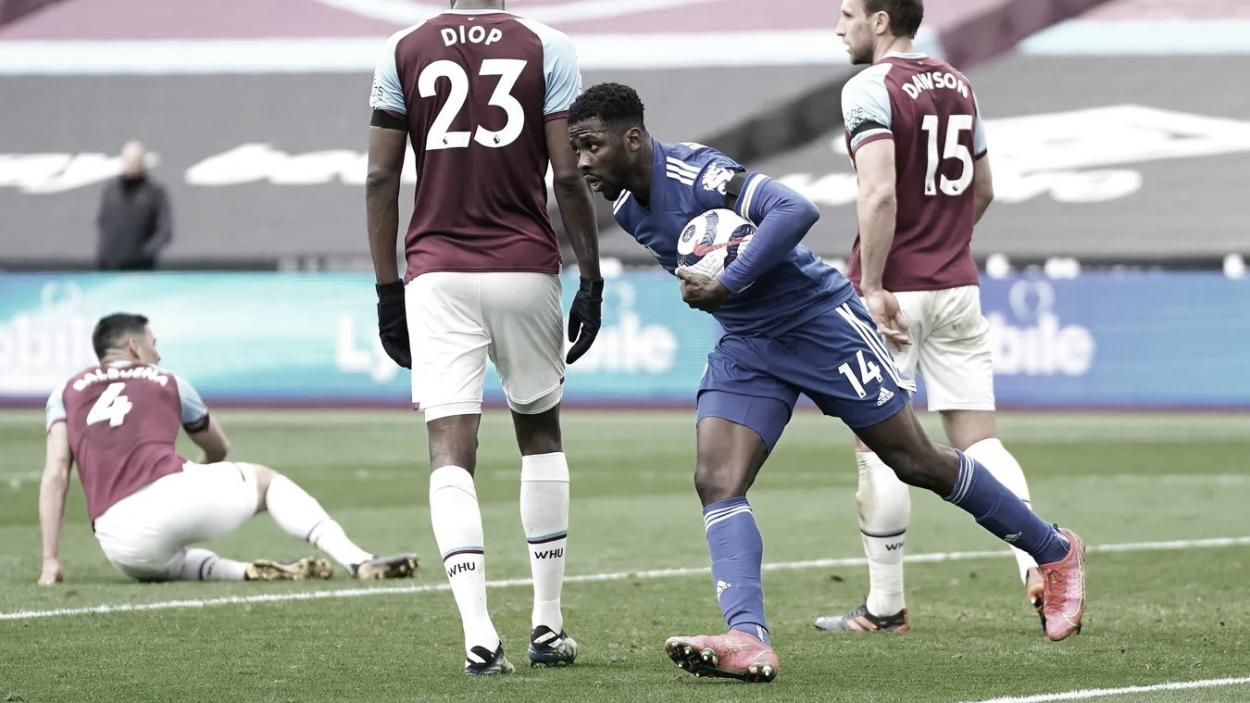 Un doblete de Iheanacho metía al Leicester en el partido./ Foto: Premier League