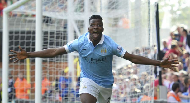 Iheanacho netted a late winner against Crystal Palace, but won't be seen in Europe (photo: getty)