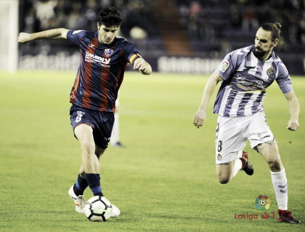 Melero y Borja Fernández en la temporada 2017/2018 | Foto: LaLiga