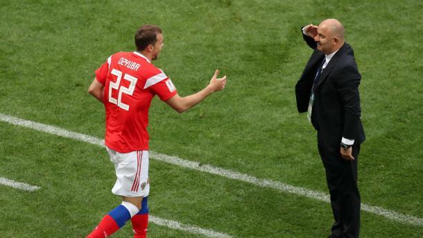Dzyuba y Cherchésov, una historia de reconciliación | Foto: FIFA.com