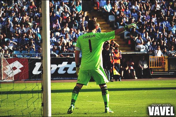 Iker Casillas con el Real Madrid. | Foto: Míriam Mata, VAVEL