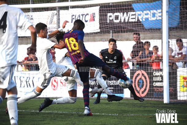 El primer gol de Ilaix al Real Madrid       FOTO: Noelia Déniz
