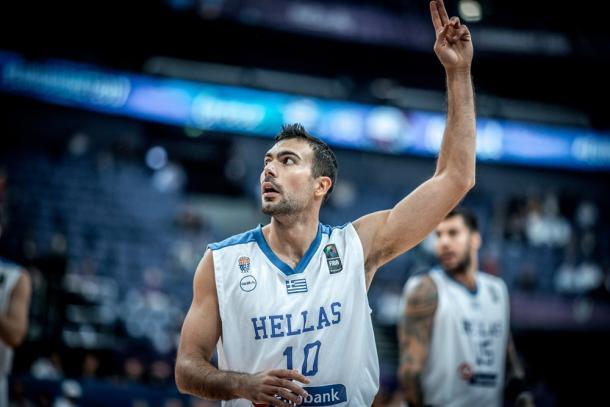 Kostas Sloukas. Fonte: Fiba.com