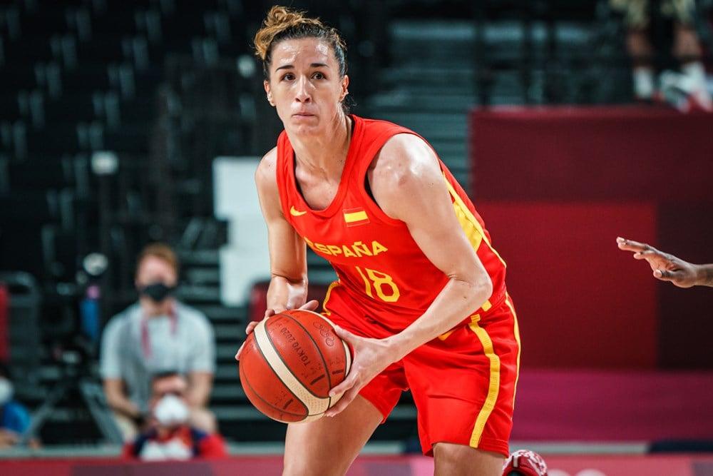 Queralt, brillante / Fuente: FIBA