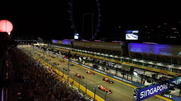 Parrilla de salida. Foto: F1. com