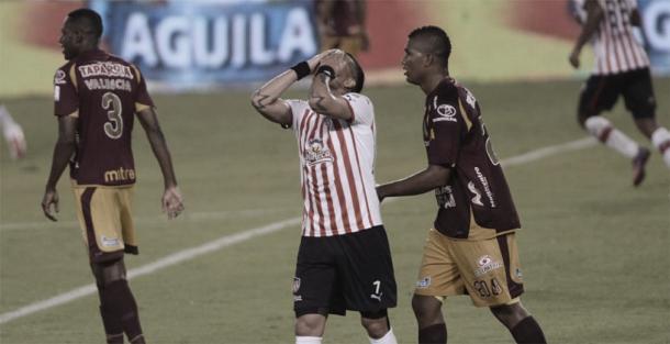 John Valencia, Dayro Moreno y Danovis Banguero | Fuente: El Heraldo