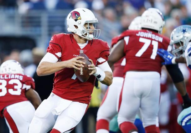 Blaine Gabbert #7 of the Arizona Cardinals |Source:Getty Images / Joe Robbins|
