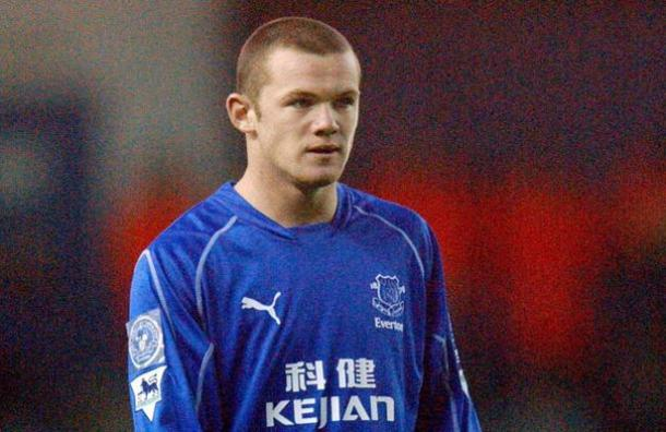 Above: Wayne Rooney during his time with childhood club Everton | Photo: mirror.co.uk