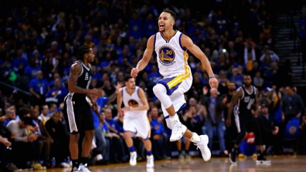 Curry frente a los Spurs I Foto: ESPN