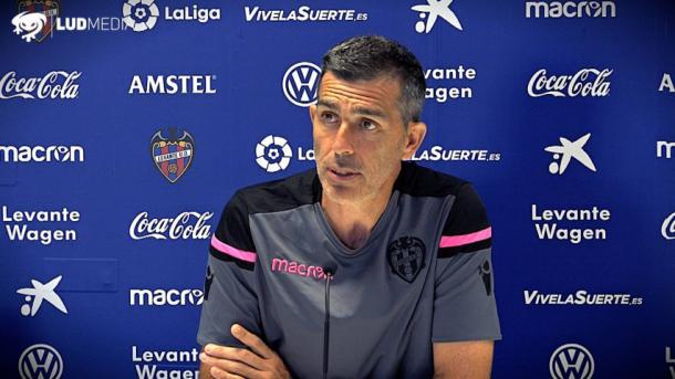 López Muñiz, técnico del Levante (Foto: Levante UD)
