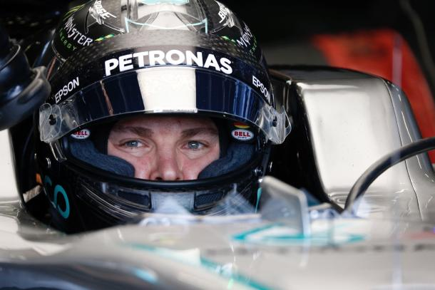 Nico Rosberg missed out on crucial track time due to a water leak. (Image Credit: Formula One.com)