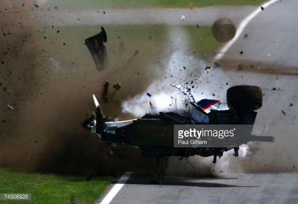 Robert Kubica was saved by his 'Survival Cell' in Canada 2007, and bounced back to win 12 months later. (Image Credit: Paul Gilham/Getty Images)