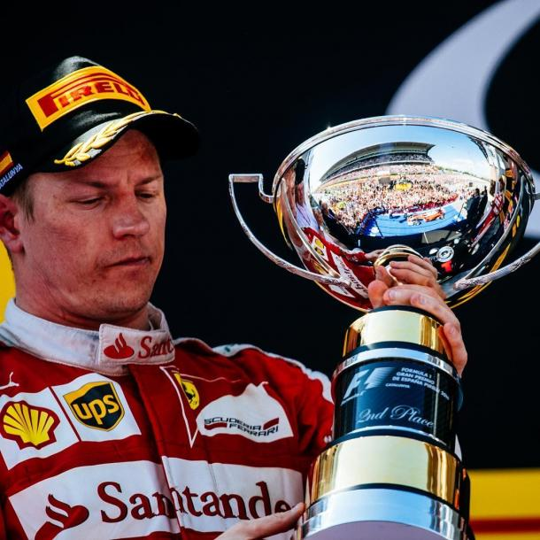 Spain was Kimi Raikkonen's third podium of the season, and he has had a solid campaign thus far. (Image Credit: ThisIsF1.com)