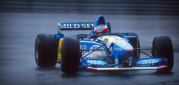 In 1995, Schumacher's performance was simply majestic and one of his finest. (Image Credit: ms-fans.com)