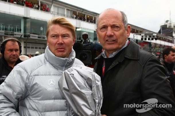 Mika Hakkinen was described by Dennis as the bravest racer he ever worked with. (Motorsport.com)