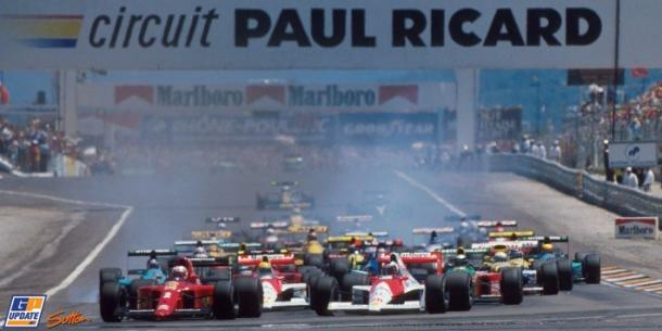 France's own Alain Prost was the last driver to win a World Championship race at Paul Ricard, doing so in 1990. (Image Credit: GP Update/Sutton Images)