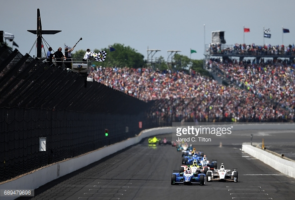 The 500 is a spectacle like none other and often provides spectacular moments. (Image Credit: Jared C. Tilton/Getty Images)