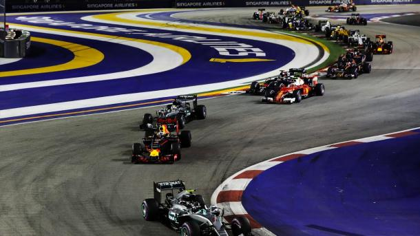 The 2017 running of the SIngapore GP, could be the last around the popular Marina Bay circuit. (Formula One)