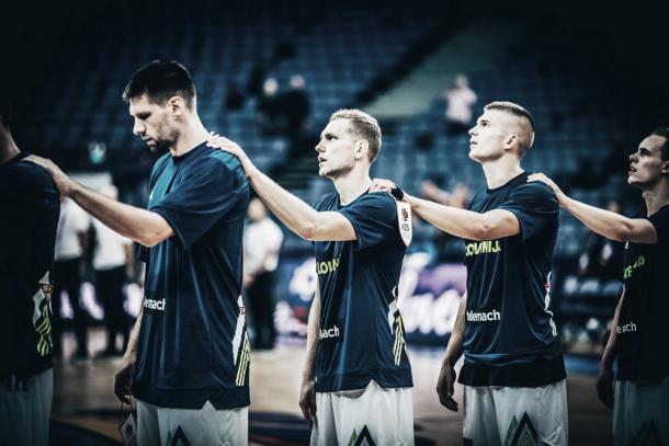 Slovenia. Fonte foto: http://www.fiba.basketball/eurobasket/2017.